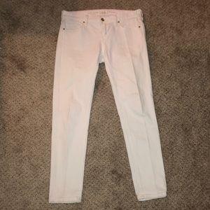 "Kate Spade ""Broome Street"" Ankle Skinny Jeans"